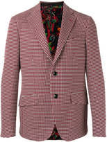 Etro striped blazer - men - Silk/Cotton - 52