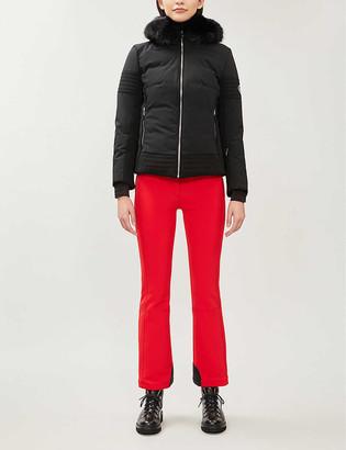 Fusalp Gardena faux fur-trim shell-down jacket