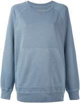 Burberry kangaroo pocket sweatshirt - women - Cotton - XS