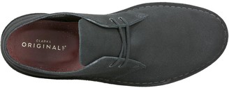 Clarks Originals Suede Desert Boot - Black
