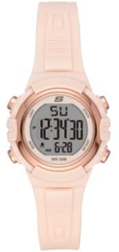 Skechers Truro Digital Plastic Watch 33MM