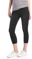 Gap Maternity demi panel true skinny crop jeans