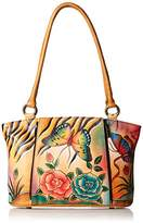 Anuschka Anna Handpainted Leather Large Organizer Tote