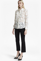 French Connection Manzoni 3d Floral Lace Shirt
