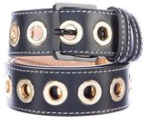 Barbara Bui Grommet Leather Belt