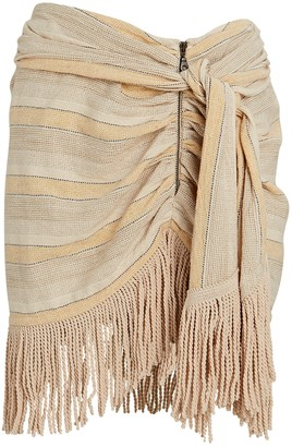 Just BEE Queen Charlie Fringed Mini Skirt