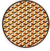 Jonathan Adler Orange Mykonos Melamine Dinner Plate