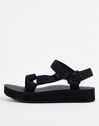Teva midform universal chunky sandals in black