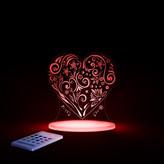 Lumenico Aloka Love Heart Night Light