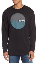 Rip Curl Men's Terra Custom Long Sleeve Graphic T-Shirt