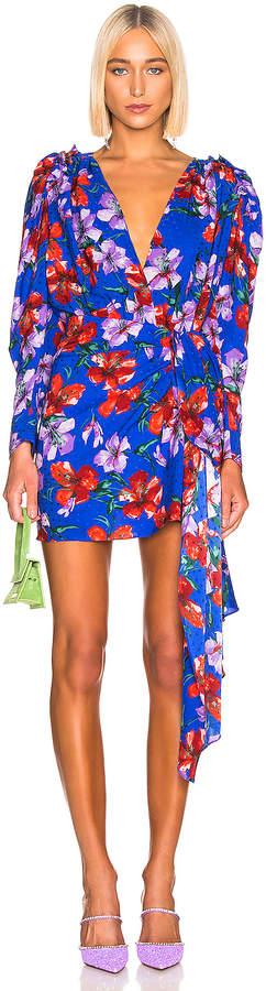Magda Butrym Lagos Dress in Blue | FWRD