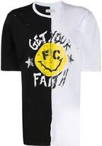 Faith Connexion oversized split T-shirt