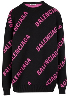 Balenciaga Round neck cotton pullover