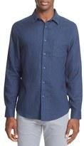 Onia Men's Abe Linen Sport Shirt