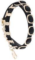 Salvatore Ferragamo link wrap bracelet