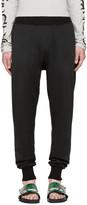 Toga Virilis Black Jersey Lounge Pants