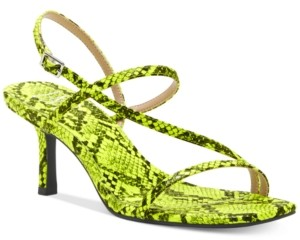 INC International Concepts Inc Women's Loreline Strappy Dress Sandals, Created for Macy's Women's Shoes