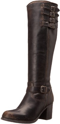 Frye Women's Kelly Belted Tall-STO Harness Boot