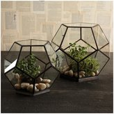 Twos Company Two's Company Showcase Octagonal Glass Boxes Set of 2 - Clear