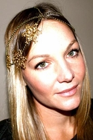Litter SF 3-Star Head Piece in Antique Brass