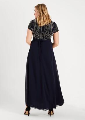 Phase Eight Flora Beaded Maxi Dress