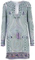 Emilio Pucci embellished tunic dress