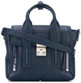 3.1 Phillip Lim zip detail satchel - women - Calf Leather - One Size