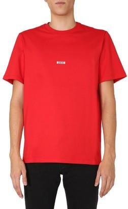 MSGM Crew Neck T-Shirt