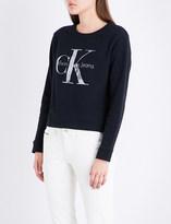 Calvin Klein True Icon cotton-jersey sweatshirt