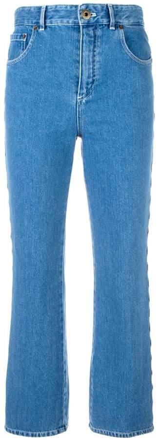 Chloé scalloped jeans