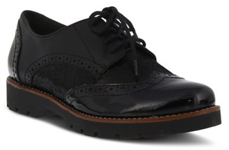 Spring Step Stanley Wingtip Oxford