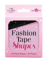 Hollywood Fashion Secrets Fashion Tape Shapes 24 Pieces