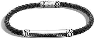 John Hardy Men's Classic Chain Leather Cord Bracelet