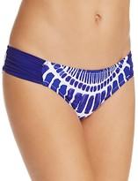 Trina Turk Algiers Shirred Hipster Bikini Bottom