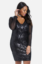 Fashion to Figure Royale Sequin Bodycon Dress