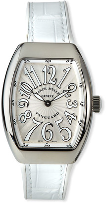Franck Muller Lady Vanguard Watch with Alligator Strap