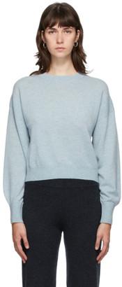 Le Kasha Blue Cashmere Modena Sweater