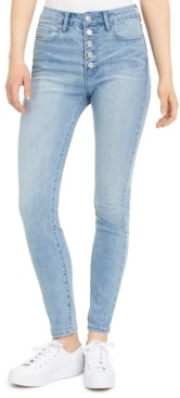 Numero Button-Fly Skinny Jeans
