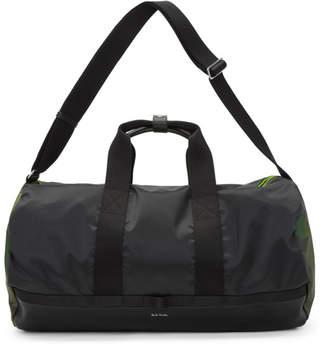 Paul Smith Black Naked Lady Camo Duffle Bag