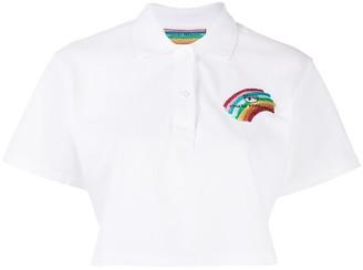 Chiara Ferragni Cropped Polo Shirt