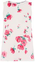 Warehouse Delia Floral Woven Front Top