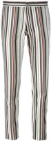 Giambattista Valli striped skinny fit trousers - women - Cotton/Spandex/Elastane - 40