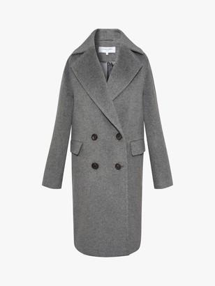 Gerard Darel Sandy Wool Blend Coat