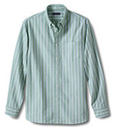 Classic Men's Traditional Fit Pattern Sail Rigger Oxford Shirt-Sail Blue Fins