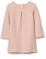 Gap Zig-zag jacquard dress