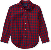 Ralph Lauren Checked Cotton Poplin Shirt