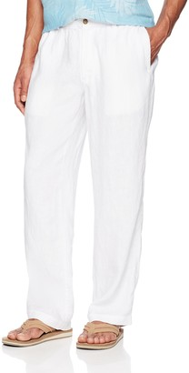 Amazon Brand - 28 Palms Linen Drawstring Pant Casual
