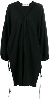 Lanvin oversized v-neck dress