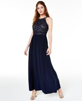 Thumbnail for your product : Nightway Lace-Top Gown
