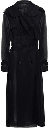 Simone Rocha Ruffle-trimmed Tulle Trench Coat